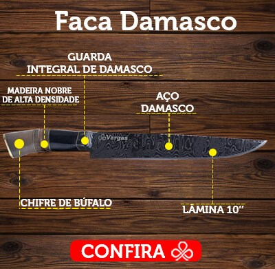 Faca Damasco Explicada
