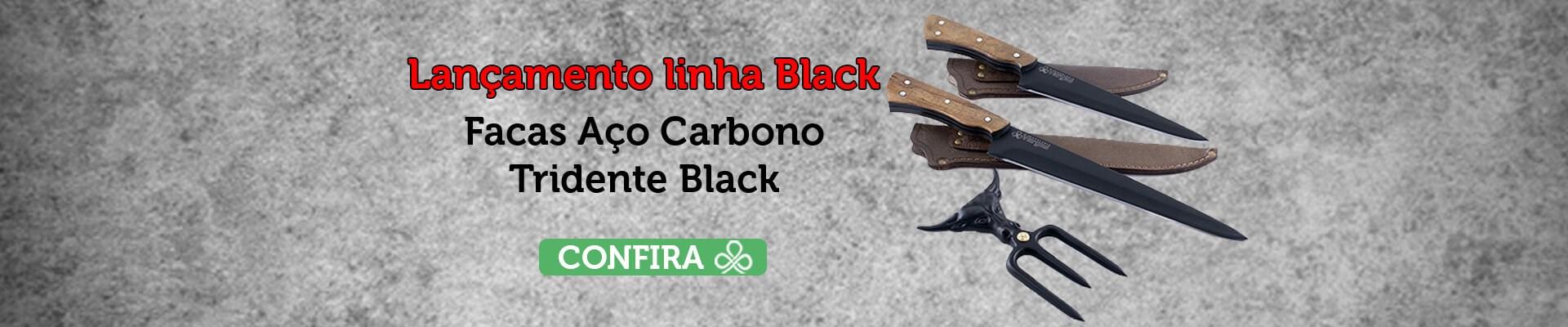 Nova Linha Black Cutelaria Vargas